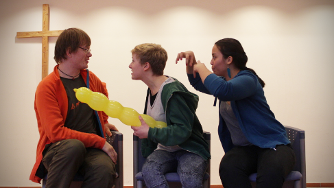 Zoodirektor; Foto vom Improvisationstheaterworkshop