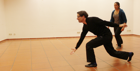 Kegeln; Foto vom Improvisationstheaterworkshop